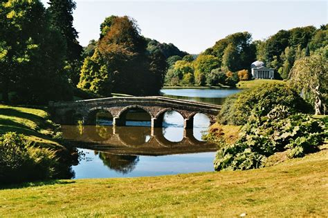 Stourhead English Garden Landscape