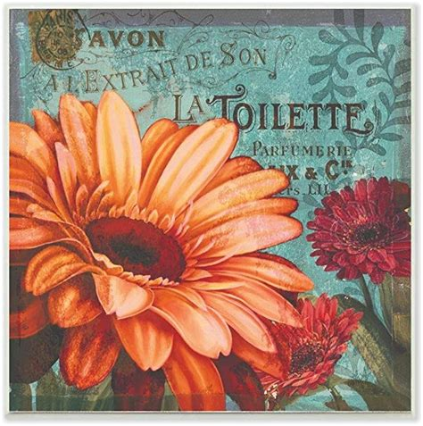 Stupell Home Décor Colorful Daisies with Antique French
