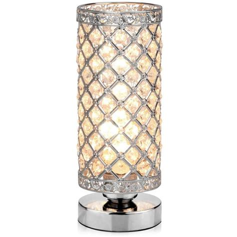 Table Lamp, Petronius Crystal Table Lamps, Decorative Bedside Nightstand