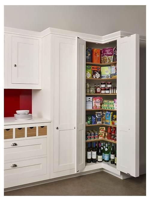 Tall Corner Kitchen Pantry Cabinet kitchen design & decor ideas gallery