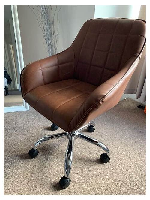 Tan Leather Office Chair office design & decor ideas gallery