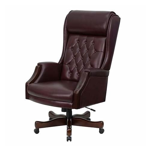 Traditional Leather Executive Office Chair office design & decor ideas gallery
