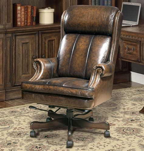 Traditional Leather Office Chair office design & decor ideas gallery