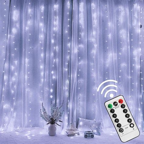 Twinkle Star 300 LED Window Curtain String Light Wedding Party