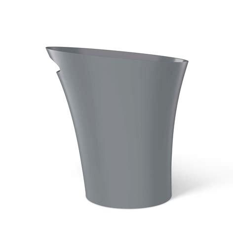 Umbra Skinny Sleek & Stylish Bathroom Trash, Small Garbage Can