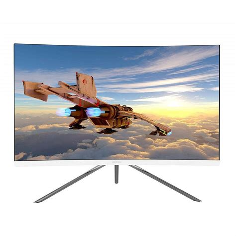 VIOTEK GN27DW 27-Inch Curved Gaming Monitor, 1440p 144Hz