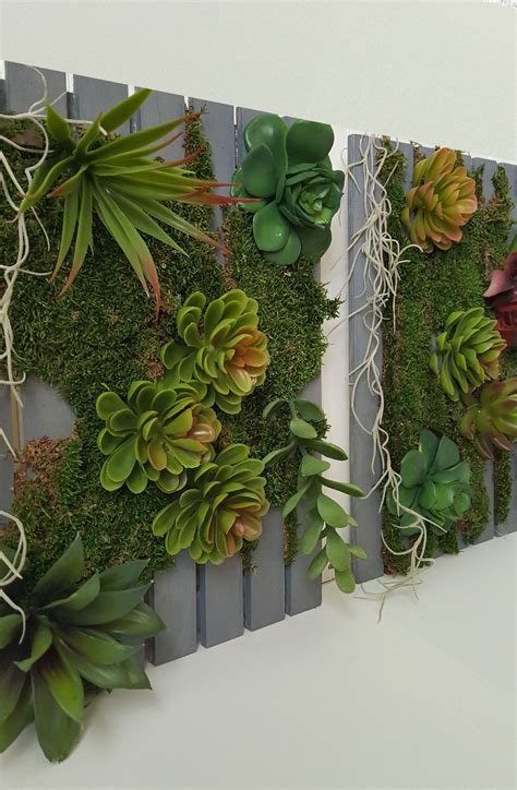 Vertical Wall Garden Succulents