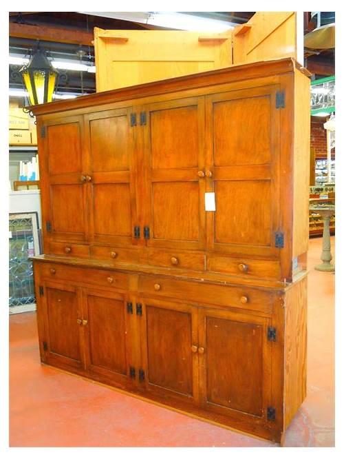 Vintage Antique Kitchen Pantry Cabinet kitchen design & decor ideas gallery