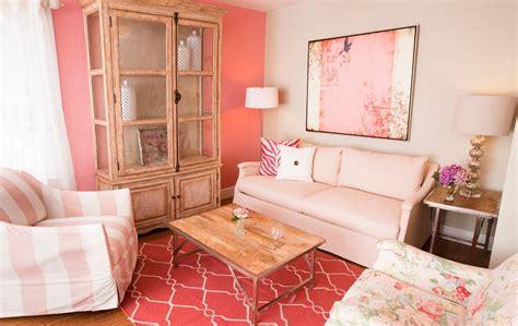 Vintage Pink Living Room living room design & decor ideas gallery