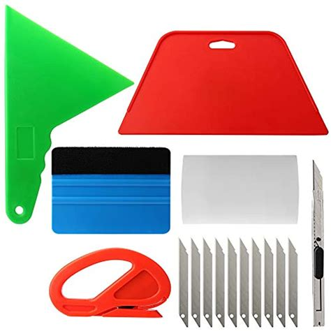 Wallpaper Smoothing Tool Kit for Adhesive Contact Paper Application