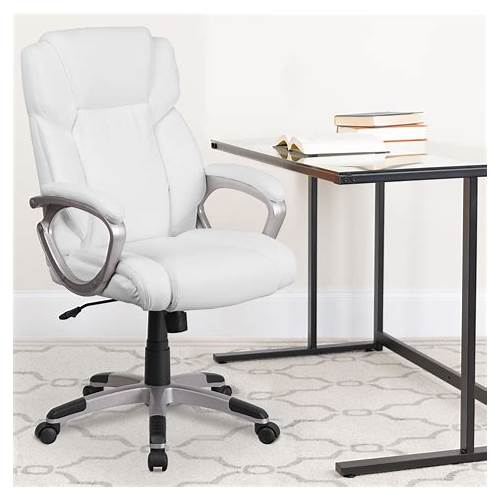 White Executive Office Chair office design & decor ideas gallery