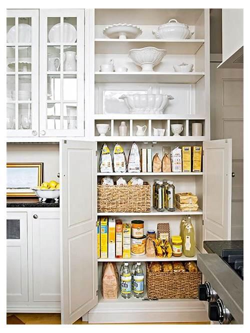 White Kitchen Pantry kitchen design & decor ideas gallery
