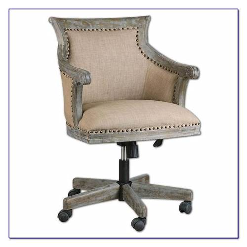 White Rolling Office Chair office design & decor ideas gallery