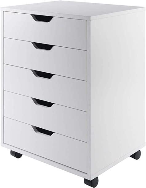 Winsome 10519 Halifax Storage/Organization, 5 Drawer, White