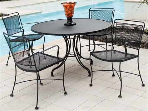 Wrought Iron Patio Dining Sets
